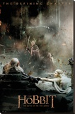 The Hobbit - Battle of Five Armies Aftermath Stretched Canvas Print