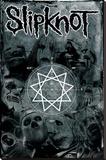 Slipknot (Pentagram) Bedruckte aufgespannte Leinwand