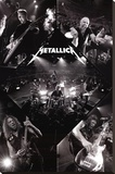 Metallica-Live Stretched Canvas Print