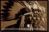 Native Wisdom Stretched Canvas Print