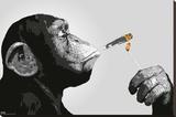 Steez - Smoking Trykk på strukket lerret