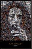Bob Marley, mosaïque Toile tendue sur châssis