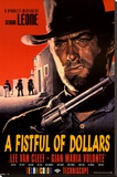 A Fistful Of Dollars Stretched Canvas Print