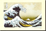 Great Wave of Kanagawa Stretched Canvas Print