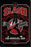 Slash- 100 Proof Los Angeles Opspændt lærredstryk