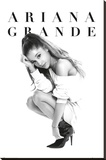 Ariana Grande - Crouch Stretched Canvas Print