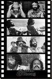 Cheech and Chong Filmstrip Movie Poster キャンバスプリント