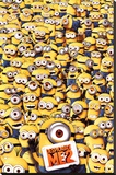 Despicable Me 2 Many Minions Stretched Canvas Print