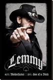 Lemmy Bedruckte aufgespannte Leinwand