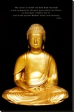 Buda Impressão em tela esticada