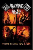 Machine Head Live Stretched Canvas Print