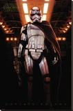 Star Wars- Captain Phasma Trykk på strukket lerret