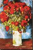 Vincent Van Gogh Poppies Art Print Poster Stretched Canvas Print