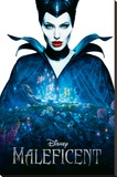 Maleficent Stretched Canvas Print