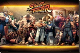 Street Fighter- Characters Stampa su tela