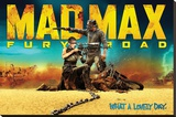 Mad Max- Fury Road Stretched Canvas Print