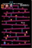 Donkey Kong - Level 1 Stampa su tela