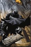 Batman Comics - Stalker Bedruckte aufgespannte Leinwand