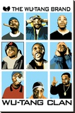 Wu Tang Brand Stretched Canvas Print