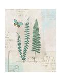 En Bleu VII Plakat av Katie Pertiet