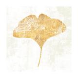 Bronzed Leaf III Premium Giclee Print by Sue Schlabach