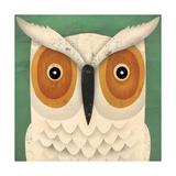 White Owl Premium Giclee Print by Ryan Fowler