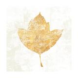 Bronzed Leaf I Premium Giclee Print by Sue Schlabach