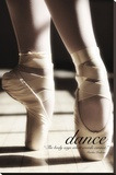 Danza Reproducción de lámina sobre lienzo por Rick Lord