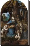 Virgin of the Rocks, 1503-1506 Stretched Canvas Print by Leonardo Da Vinci