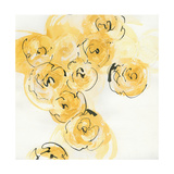 Yellow Roses Anew I v.2 Posters by Chris Paschke