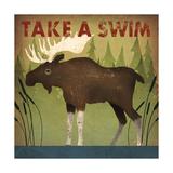 Take a Swim Moose Posters tekijänä Ryan Fowler