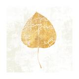 Bronzed Leaf II Premium Giclee Print by Sue Schlabach