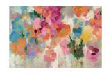Colorful Garden I Crop Giclée-Premiumdruck von Silvia Vassileva