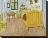 The Bedroom, 1888 Stretched Canvas Print by Vincent van Gogh