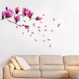 Fleur de magnolia Autocollant mural