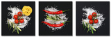 Cucina Italiana Pomodori V Poster av Uwe Merkel
