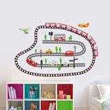 Kid's Transport Autocollant mural