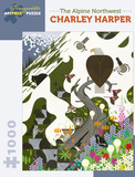 Charley Harper: The Alpine Northwest 1000 Piece Puzzle Jigsaw Puzzle