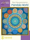 Paul Heussenstam: Mandala World 1000 Piece Puzzle Jigsaw Puzzle