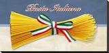 Pasta Italiana Stretched Canvas Print by Remo Barbieri