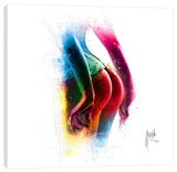 Full Moon Stretched Canvas Print by Patrice Murciano