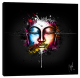 Zen Pop Stretched Canvas Print by Patrice Murciano