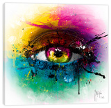 Requiem for a Dream Stretched Canvas Print by Patrice Murciano