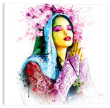 Faith Stretched Canvas Print by Patrice Murciano