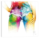 Preston Lee Stretched Canvas Print by Patrice Murciano