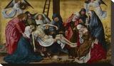The Deposition Bedruckte aufgespannte Leinwand von Rogier van der Weyden