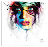 Coralie I Stretched Canvas Print by Patrice Murciano