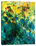Poseidons Stretched Canvas Print by Barbara Biolotta