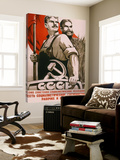 The republic of social soviet, union for country and urban worker Poster