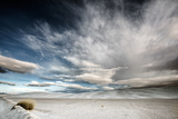 Wide Angle of Skies in Desert in USA Photographic Print by Jody Miller
